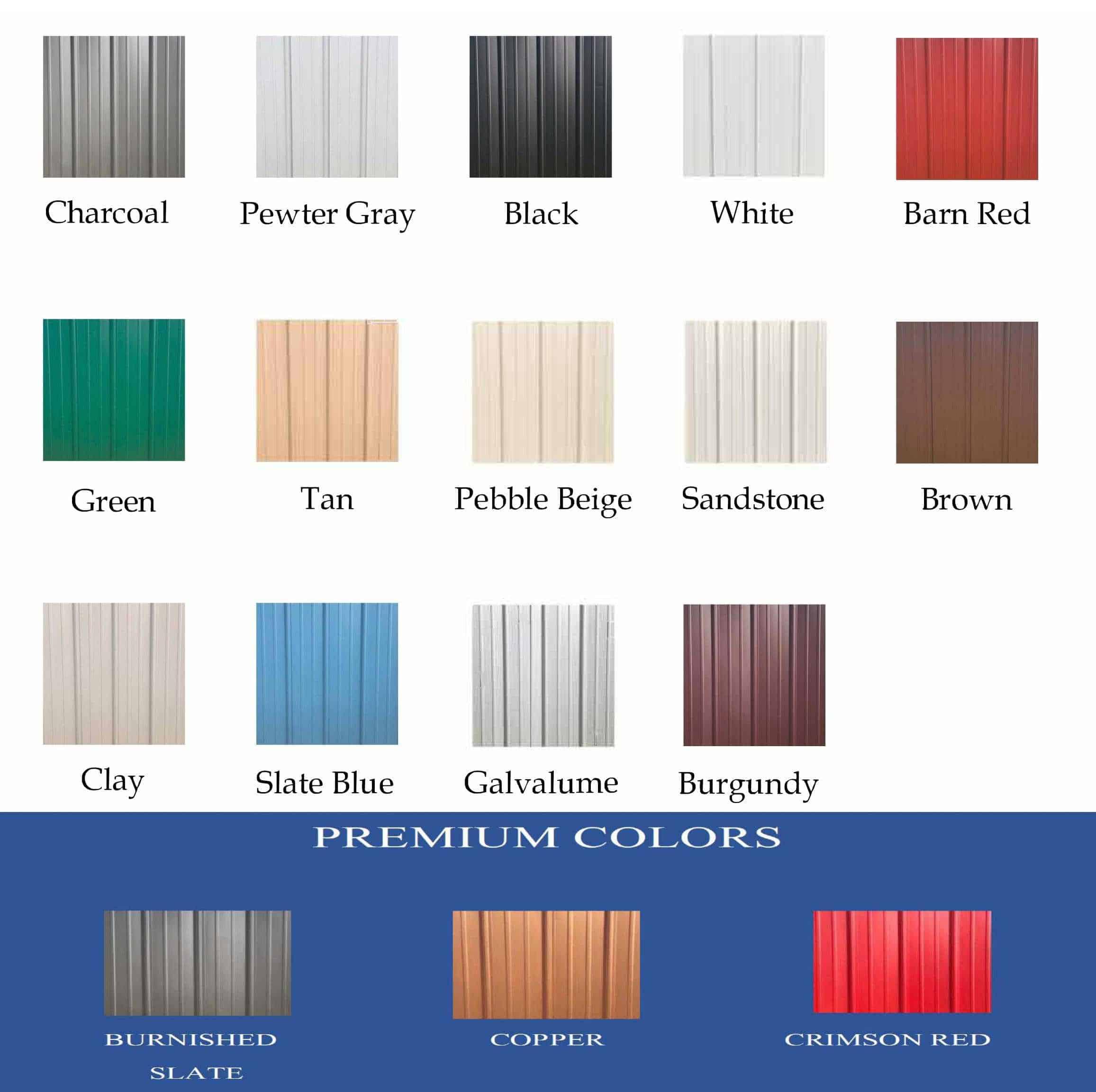 Carport central colors