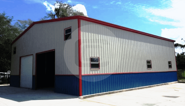 40x50 commercial garage MS
