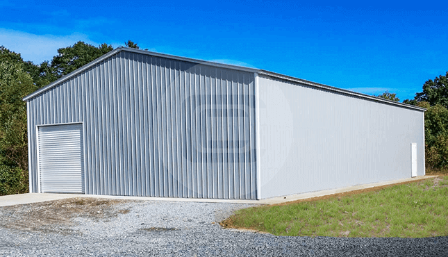 40x80 Commercial Garage DE