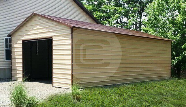 A-Frame Garage Building Wisconsin