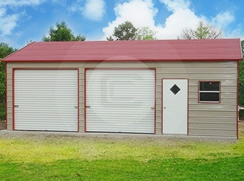 Metal Garages - 100+ Steel Garage Building Options at