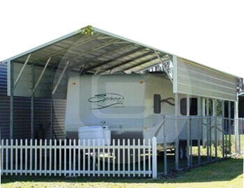 A-Frame Roof RV Covers