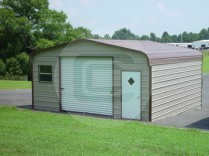 18x21x8 Enclosed Garage