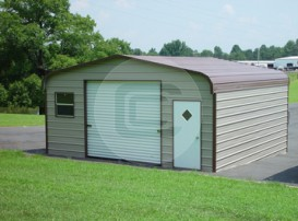 18x21x8 Enclosed Garage