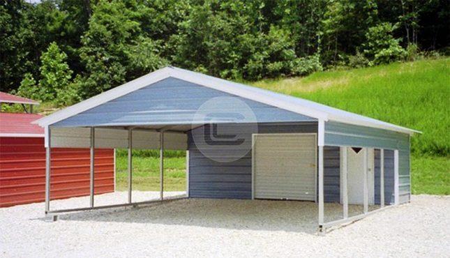 18x26x6 Utility Carport