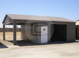 20x31x9 Side Entry Garage