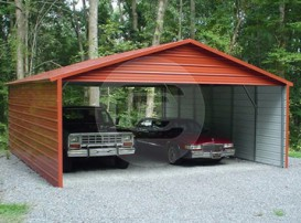 20x38 Carport with options