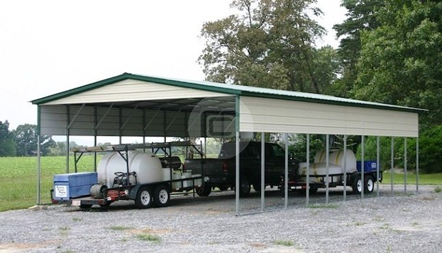 20x41x10 Agricultural Carport