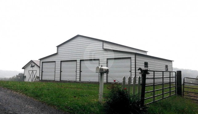 24x26x13 A-Frame Barn 1