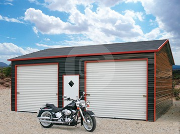 boxed eave garage