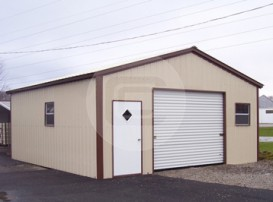 Enclosed Garage Structure
