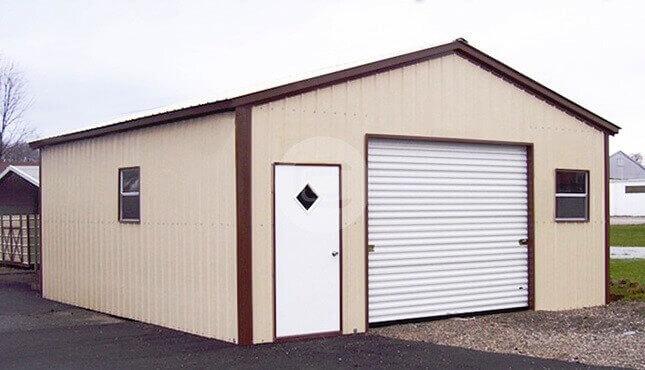 20×21 Garage