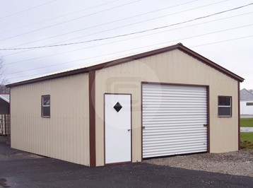 Enclosed Garage Structure