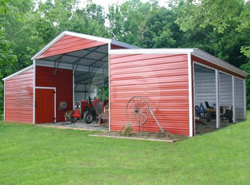 Metal Carolina Barn