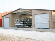 Metal Seneca Barn