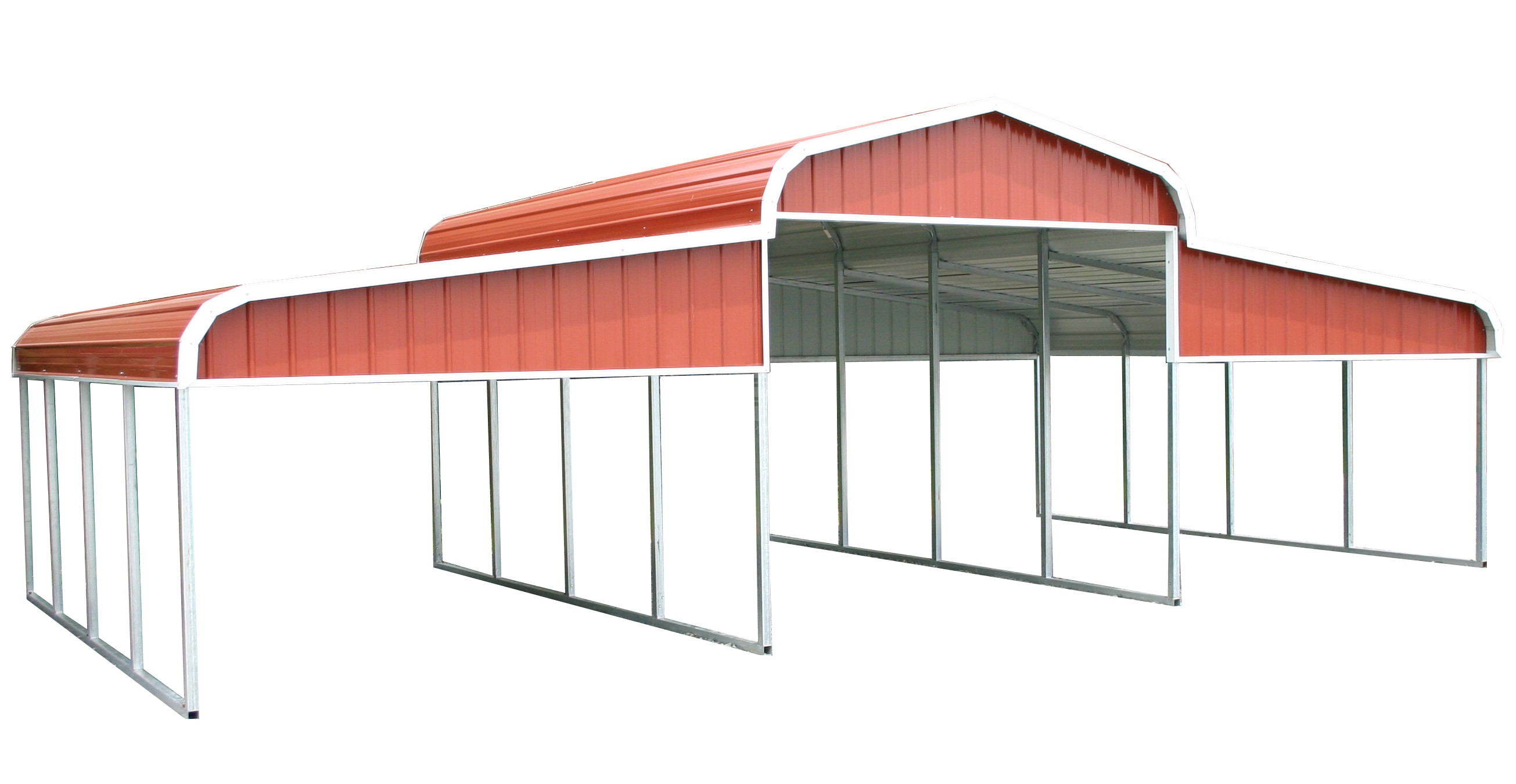 Metal barns buying and installation guide carport central for Shed construction cost estimator