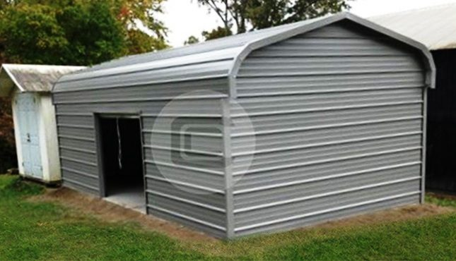 12x21x7 Enclosed Garage