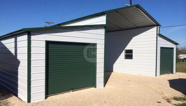18x21x12 A-Frame Barn
