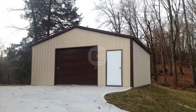 18x21x9 A-Frame Garage