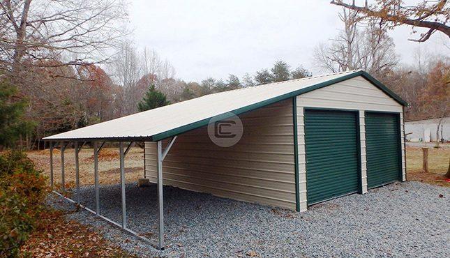 20x26 Vertical Garage - 2