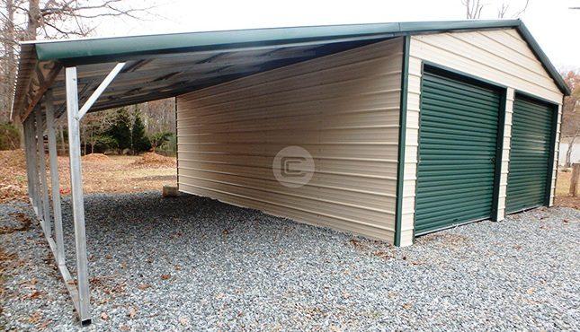 20x26x9 Vertical Garage - 3