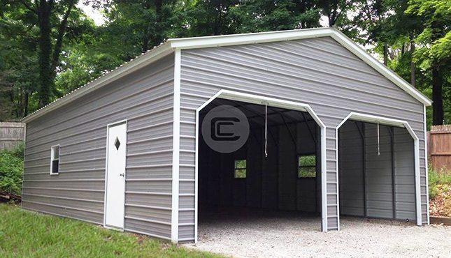 22x26 Vertical Garage