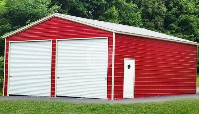 24x41x11 Vertical Garage