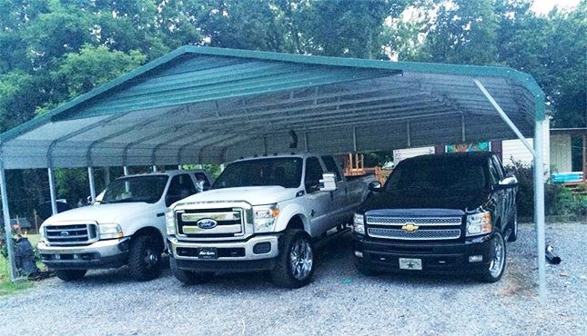 Certified Triple Wide Carport