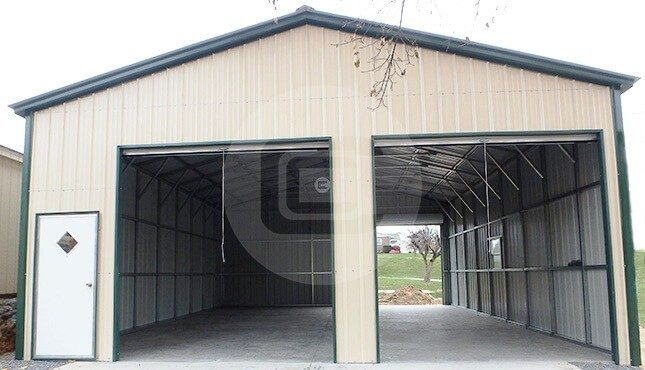 30x36 All Vertical Certified Workshop Structure For Sale