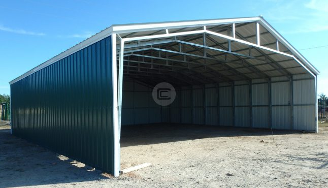 32x41 Vertical Carport 1