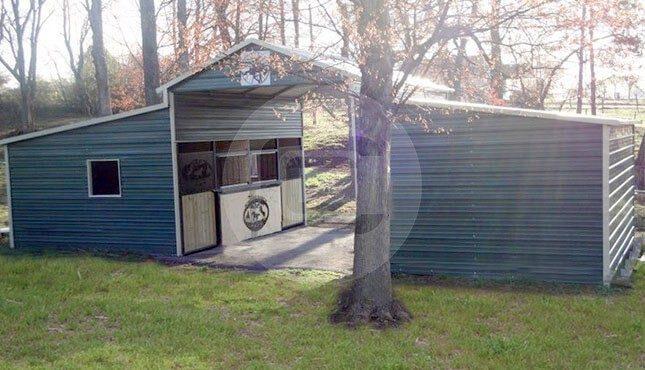 36x21x10/7 A-Frame Barn