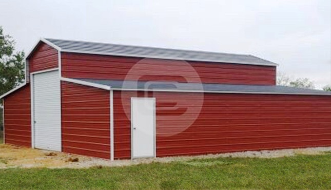 36×31 Enclosed Barn