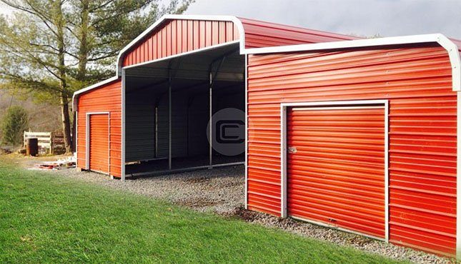 42x2 Horse Barn