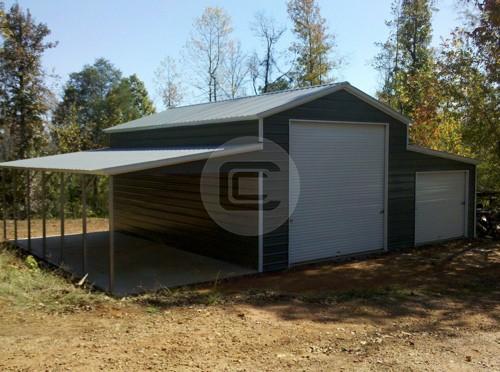 Enclosed Carolina Barn