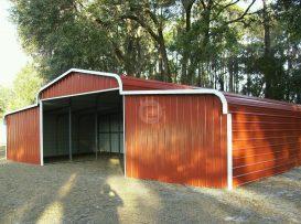 Enclosed Horse Barn