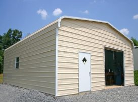 Garage with closed sides & ends