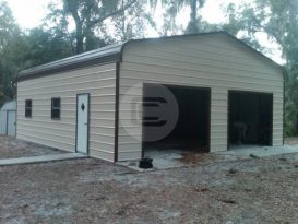 Prefabricated Enclosed Garage