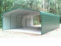 Enclosed Carport