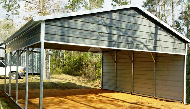 Custom Carports Product : Metal rv carports cover kits custom shelters for