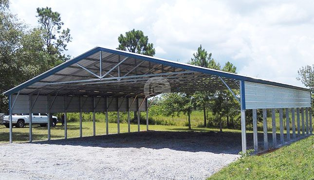 Agricultural Equipment Shed