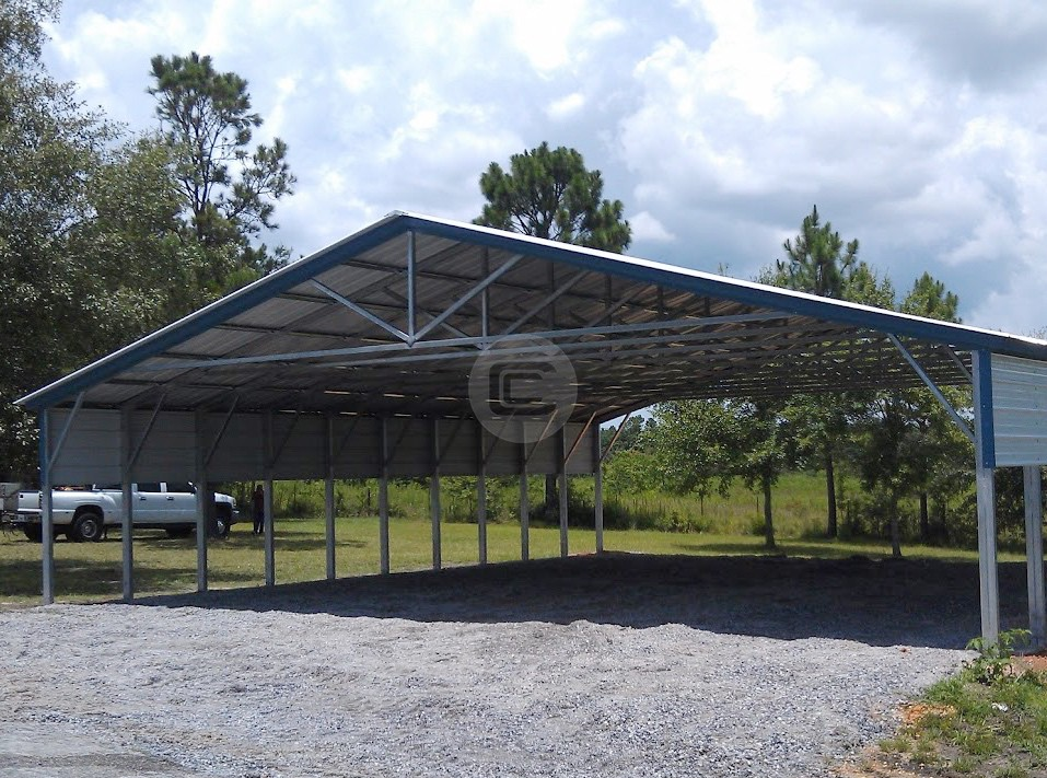40x41x8 Rv Shelter Agricultural Equipment Shed Boat Cover