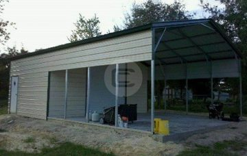 equipment storage shed