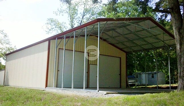 Metal Workshop Structure