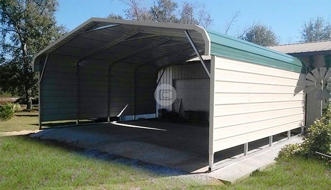 Two Car Carport