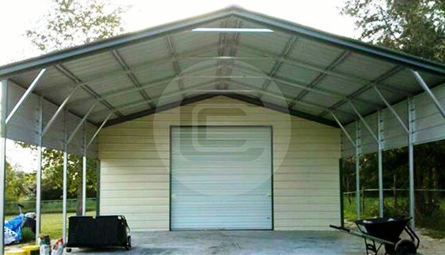 Rent to own metal storage buildings utility structure for 40x40 garage for sale