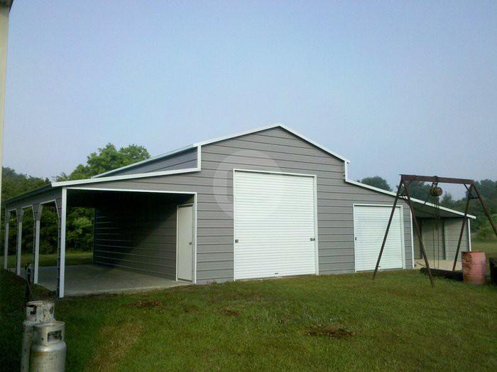 Custom Steel Carports : Custom designed metal buildings take help from carport