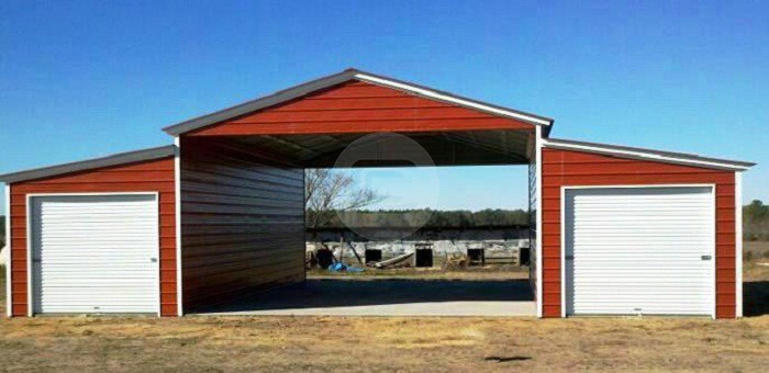 best garages to live in. If you live in the South  know what it is like to open up your car on a 100 day be met with oven temperatures and steering wheel that Custom Metal Buildings Garages And Barns