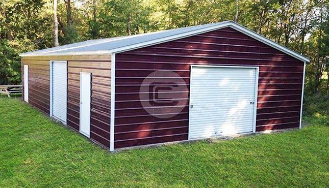 20x31x9 Custom Garage Building