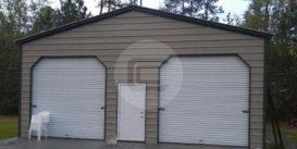 22x21x9 A-frame Garage