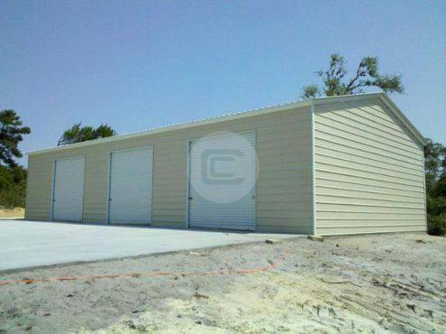 22x41x10 Vertical Roof Garage